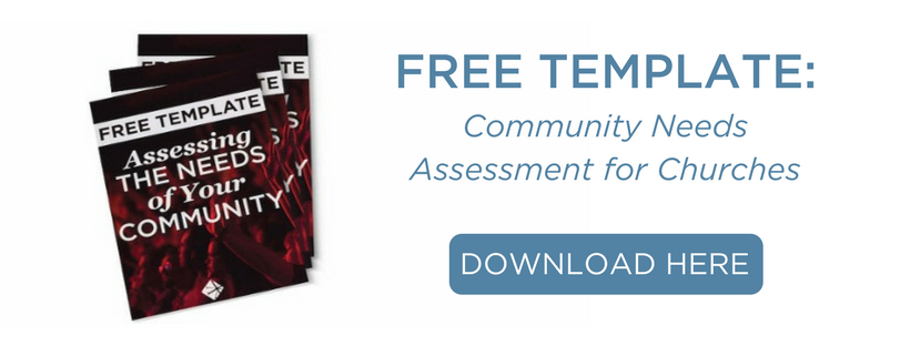 Community Needs Assessment For Churches Download