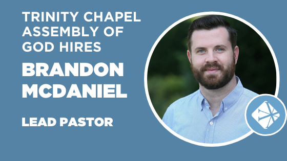 Brandon Announcement Trinity Chapel