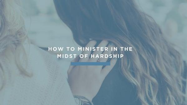 Minister in Hardship