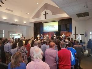 Bridge easter worship