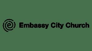 Embassy City Church Logo - Horizontal - Black