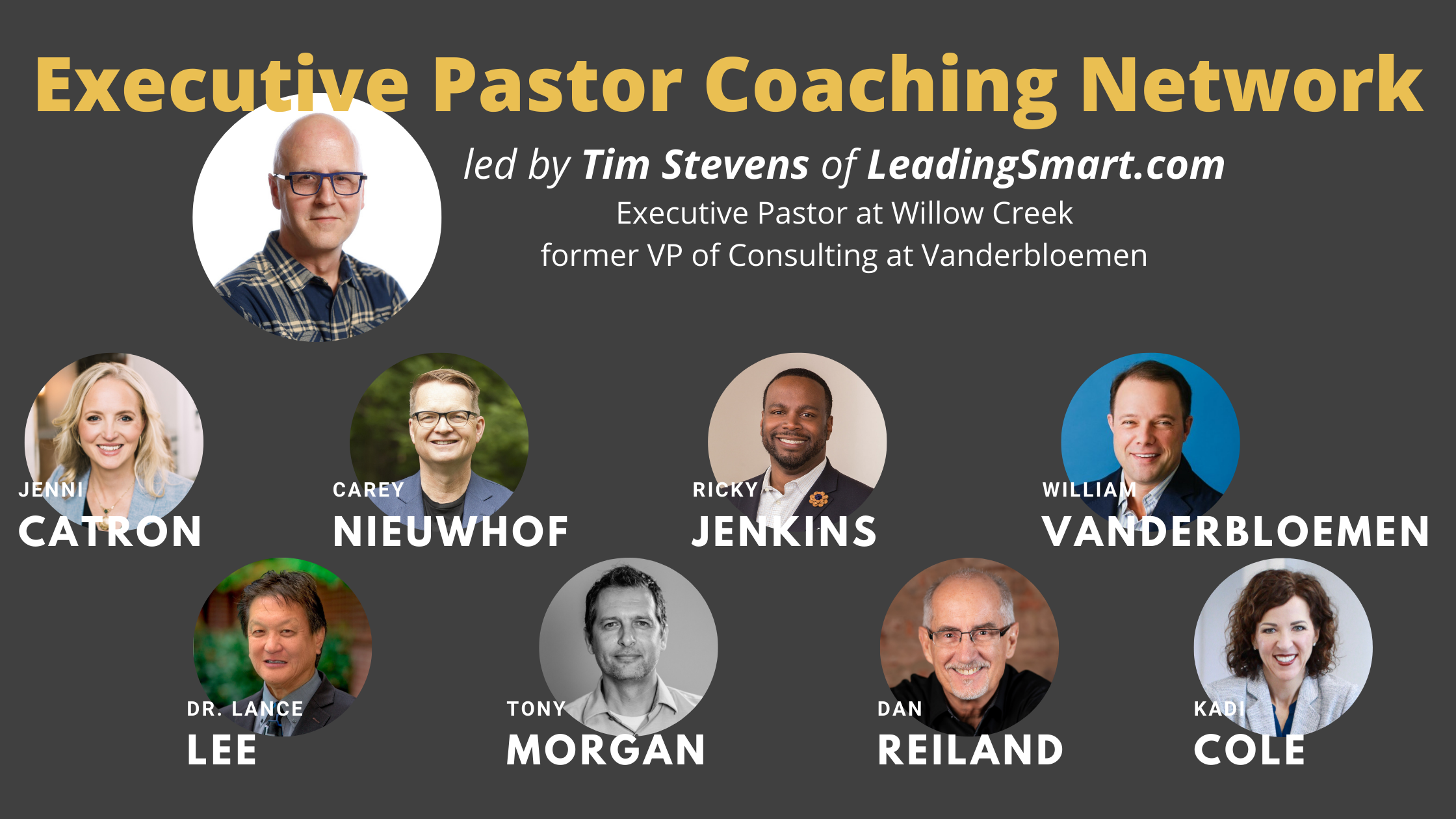 Executive Pastor Coaching Network Official Promo Graphic