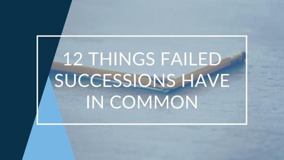 Failed Succession Blog