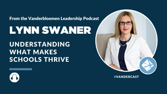 Lynn Swaner - Understanding what makes schools thrive