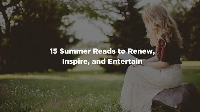 15 Summer Reads