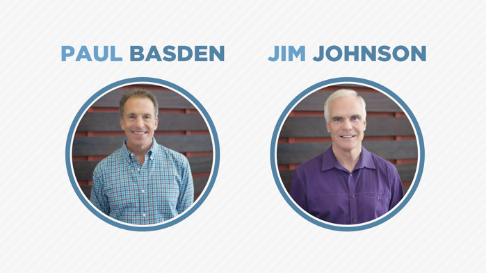 Paul Basden and Jim Johnson