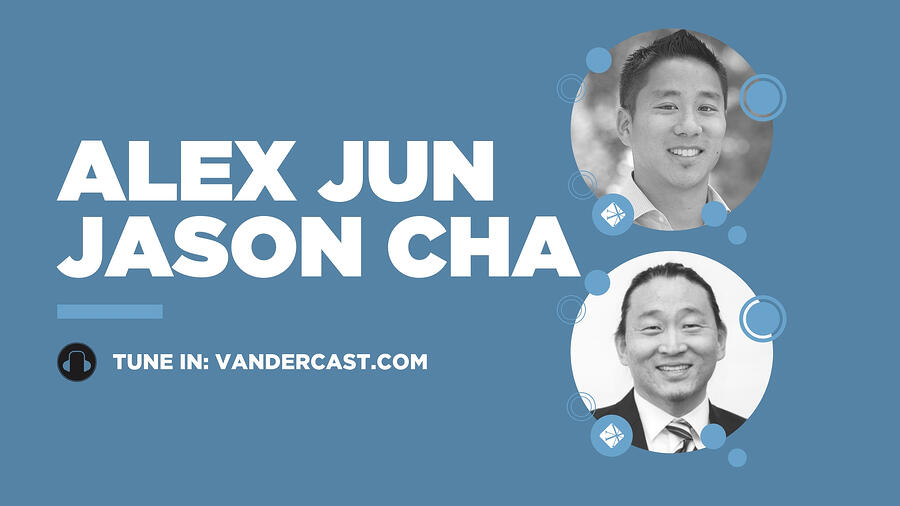 Alex Jun and Jason Cha
