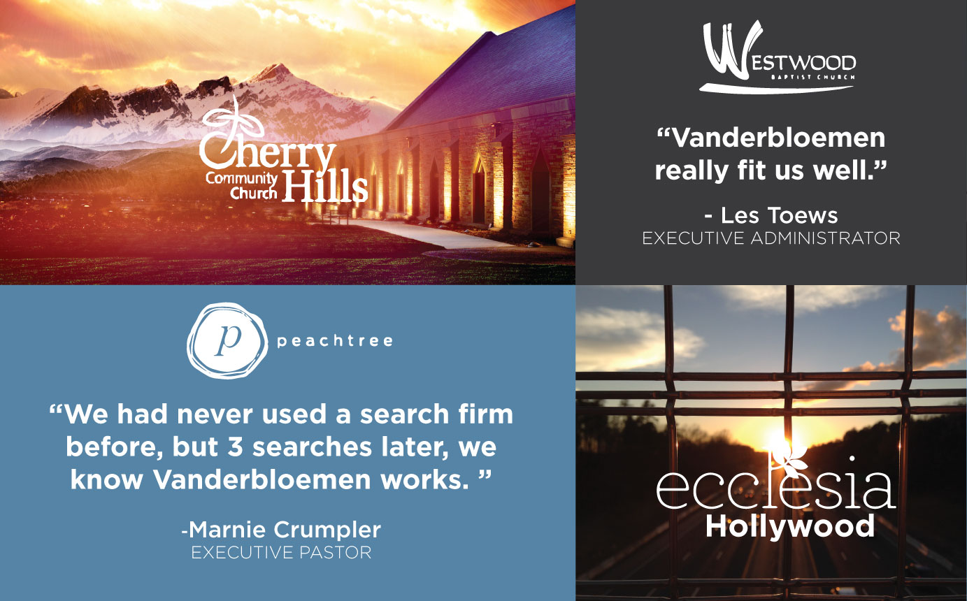Vanderbloemen Search Group Testimonials