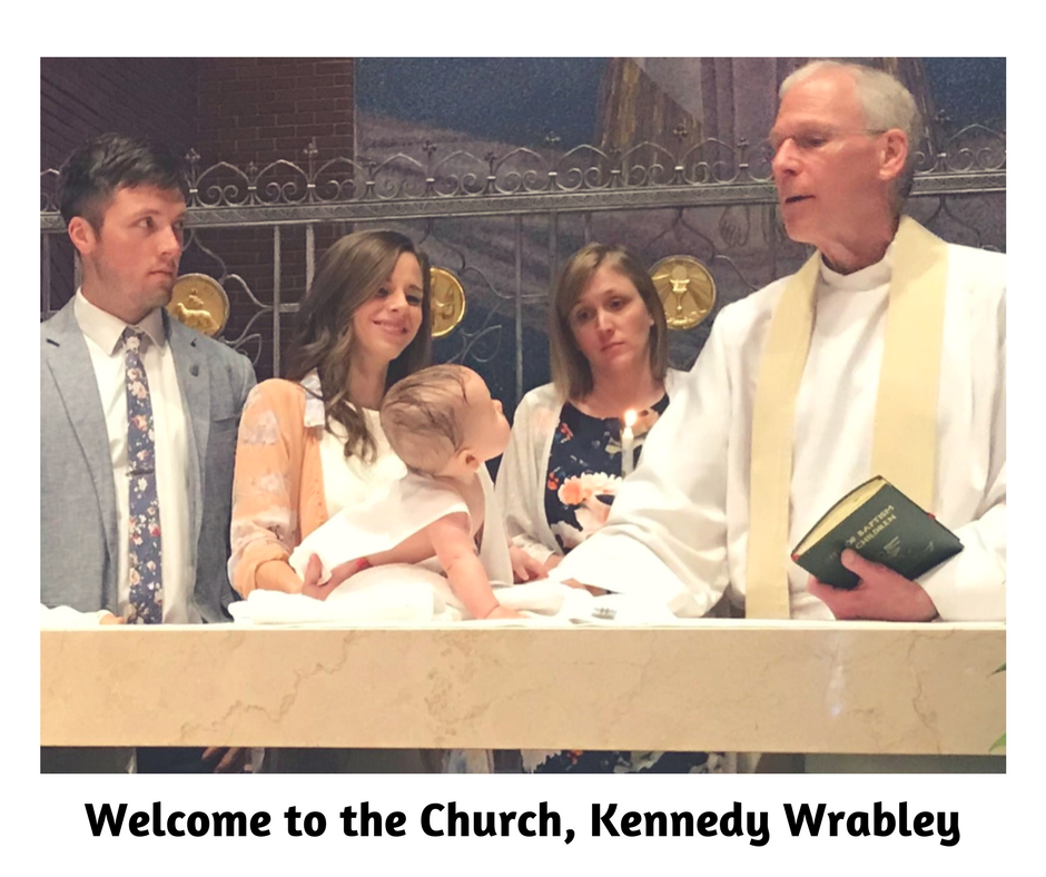 Welcome to the Church!Kennedy Wrabley