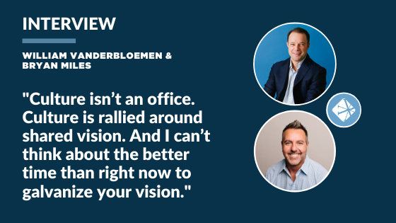 Interview with William Vanderbloemen and Bryan Miles