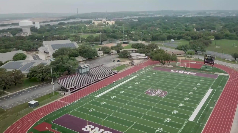 aerial view of SACS