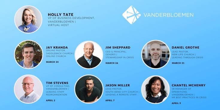 TWITTER The Vanderbloemen Network LIVE