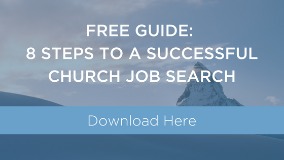 SuccessfulChurchJobSearch