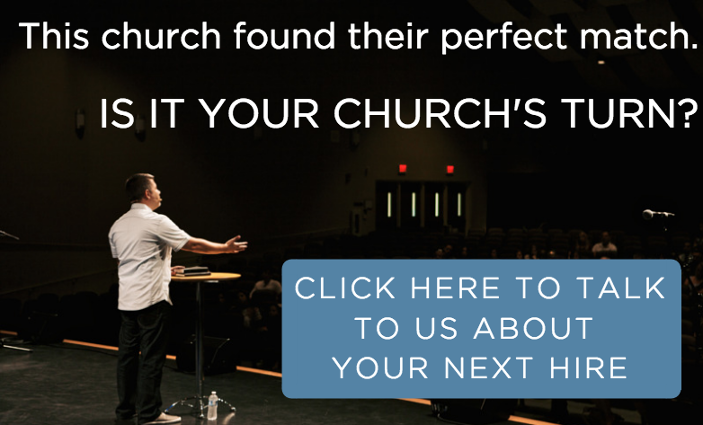 Church Staffing Success Story - Is It Your Church's turn?