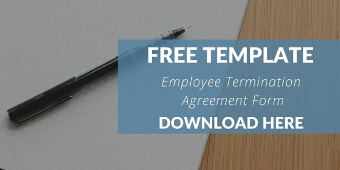 Free Template: Sample Employee Termination and Release Agreement Form