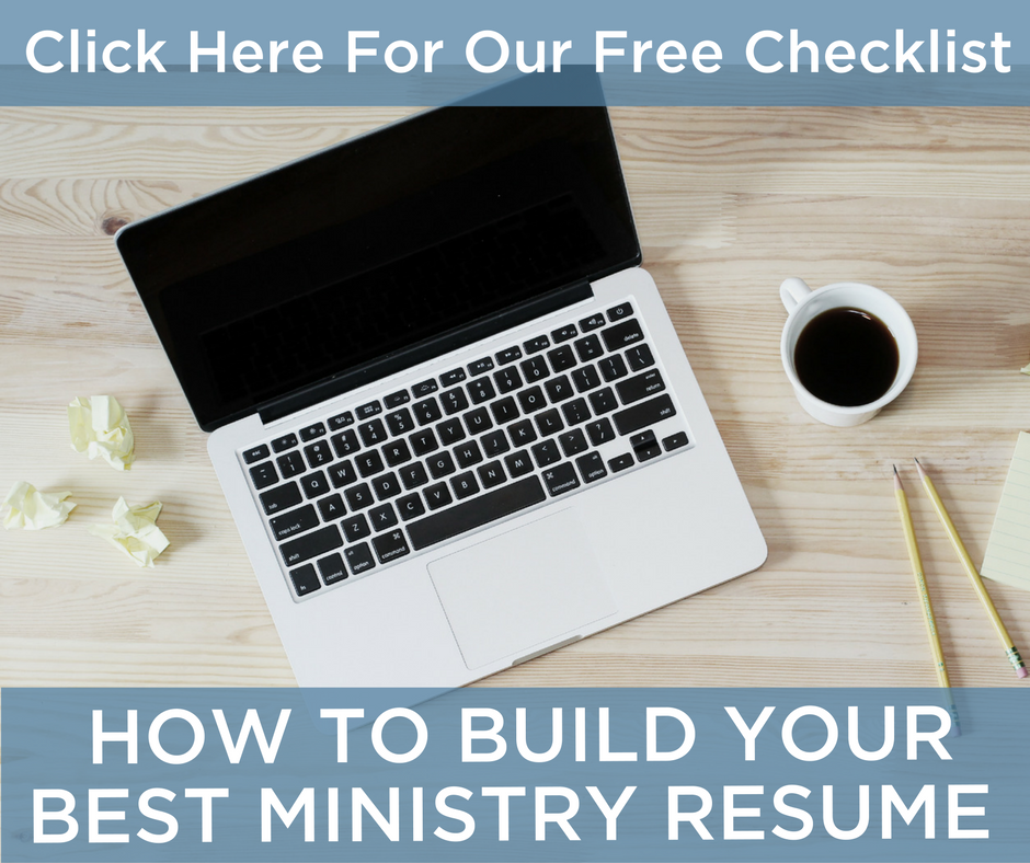8 Steps To A Successful Church Job Search