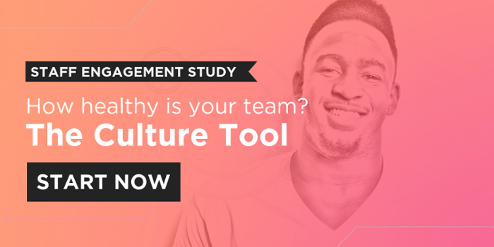 Try the free Culture Tool to assess the health of your team.