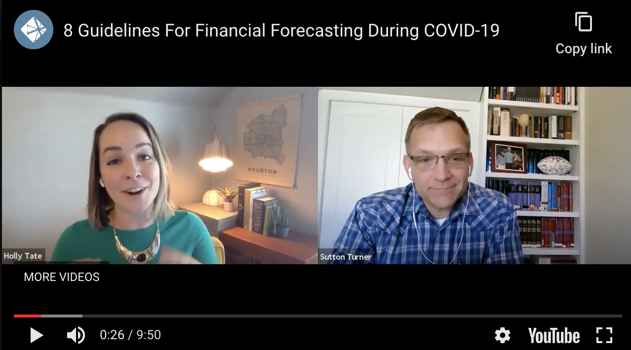 8 Guidelines For Financial Forecasting During COVID-19