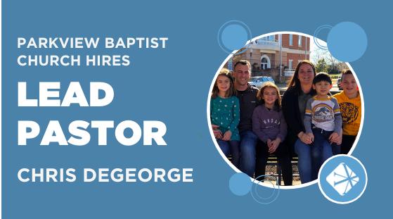 Parkview Baptist Hires Chris DeGeorge