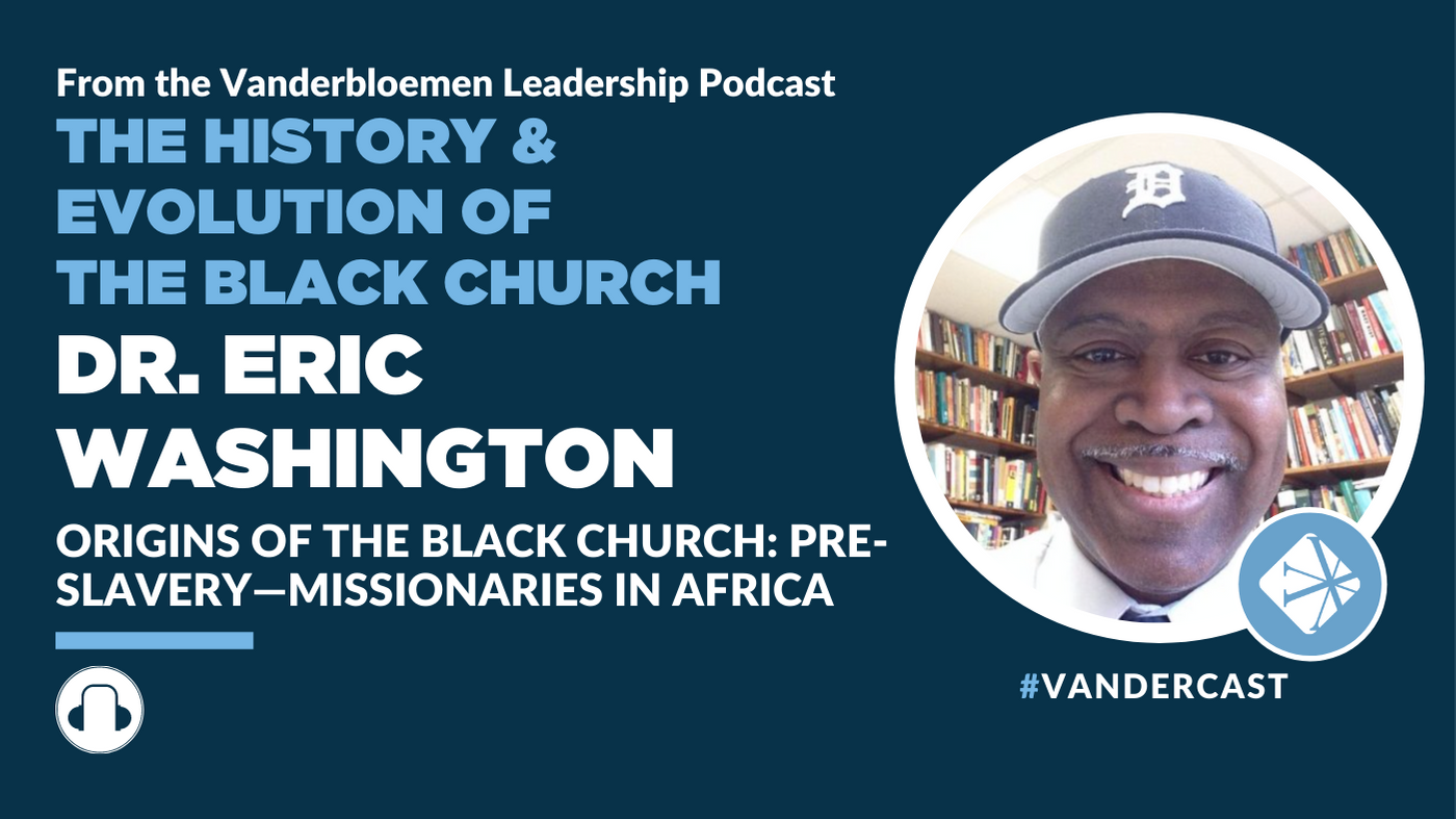 Chantel McHenry on Origins Of The Black Church: Enslavement Through Emancipation