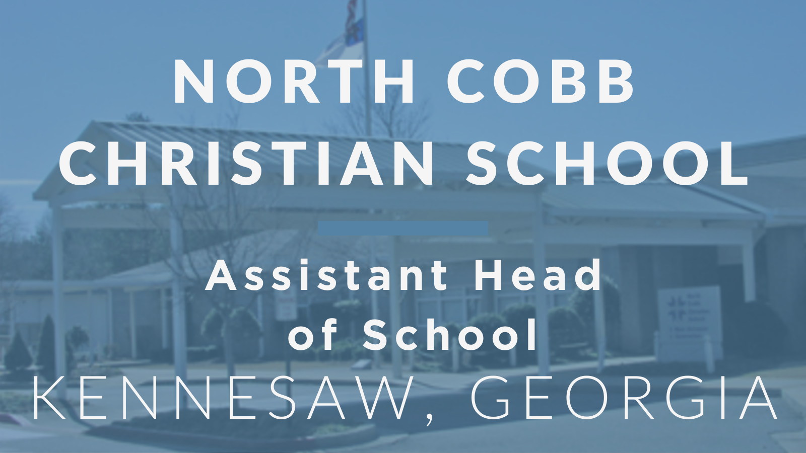 Recent Jobs - North Cobb Christian School