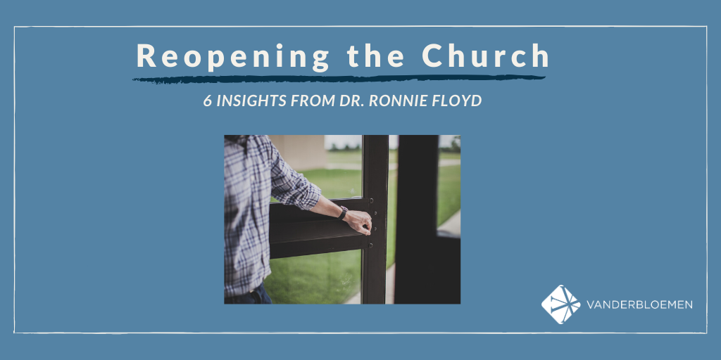 Reopening The Church - 6 Insights
