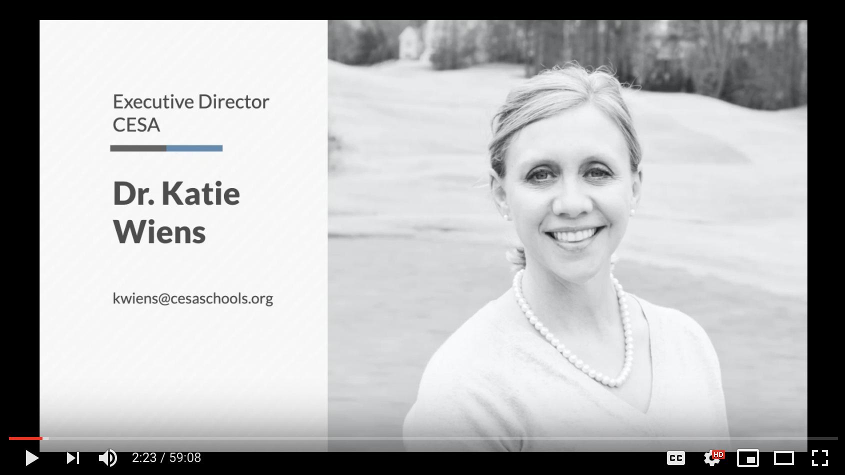 Katie Wiens Webinar