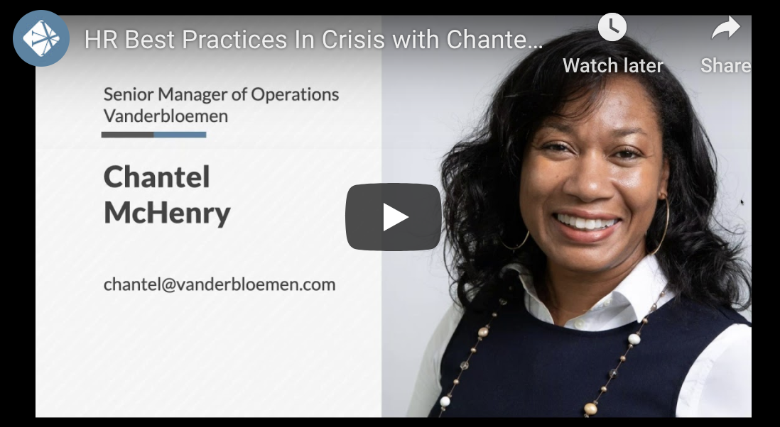 HR Best Practices in Crisis with Chantel McHenry