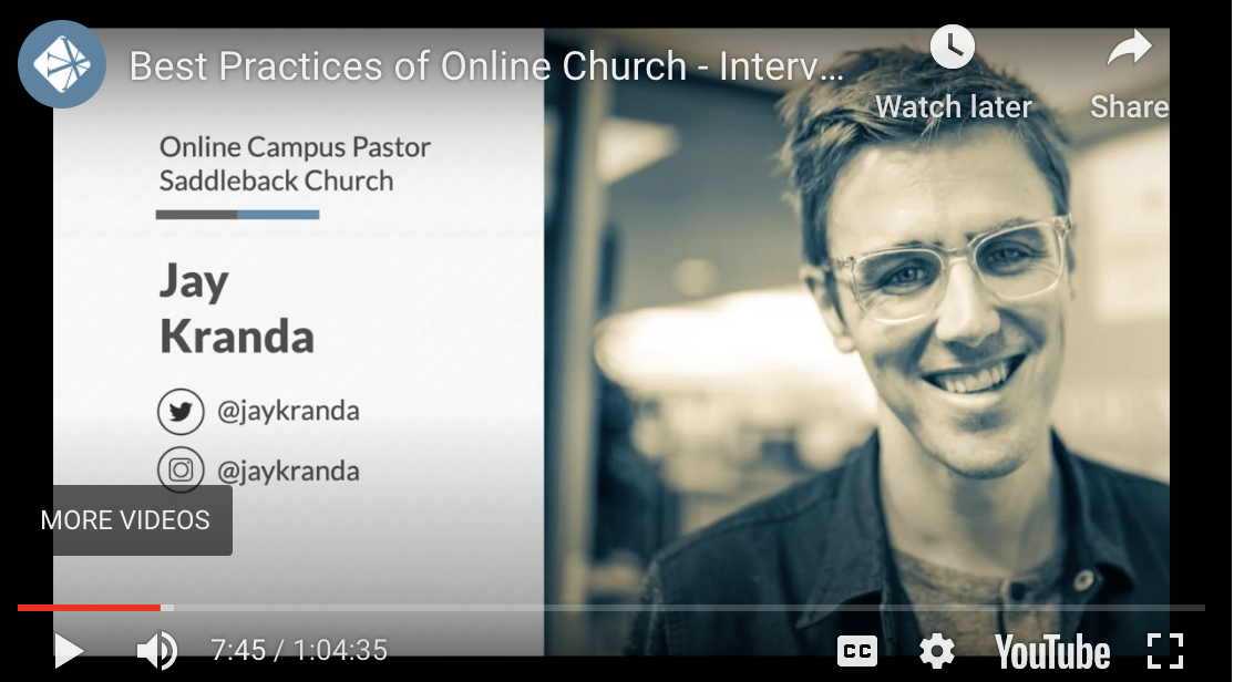 Online Church Best  Practices