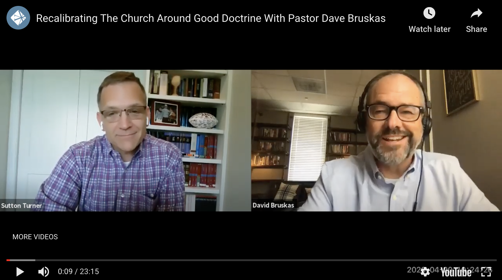 Recalibrating The Church Around Love With Pastor Dave Bruskas