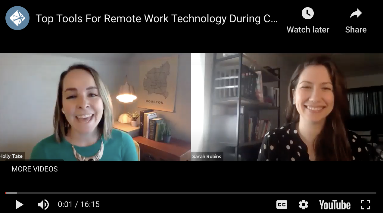 Top 3 Tools For Remote Work Technology During COVID-19