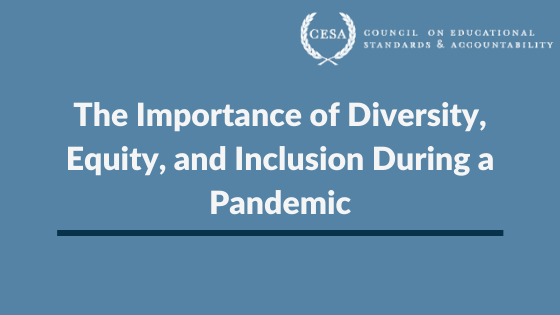 The Importance of Diversity, Equity, and Inclusion During a Pandemic