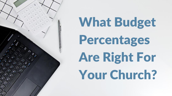 What Budget Percentages Are Right For Your Church_